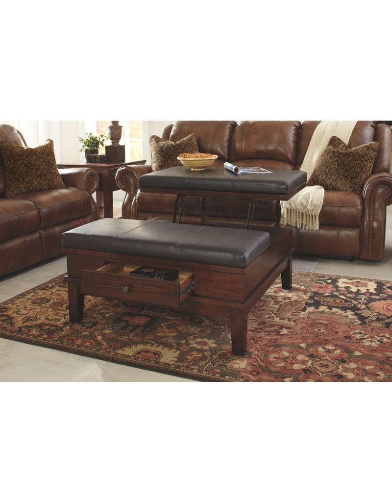 Ashley Furniture Gately Square Lift Top Coffee Table