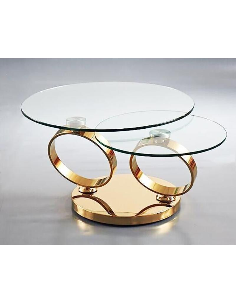 Rings Swivel Coffee Table Livin Style