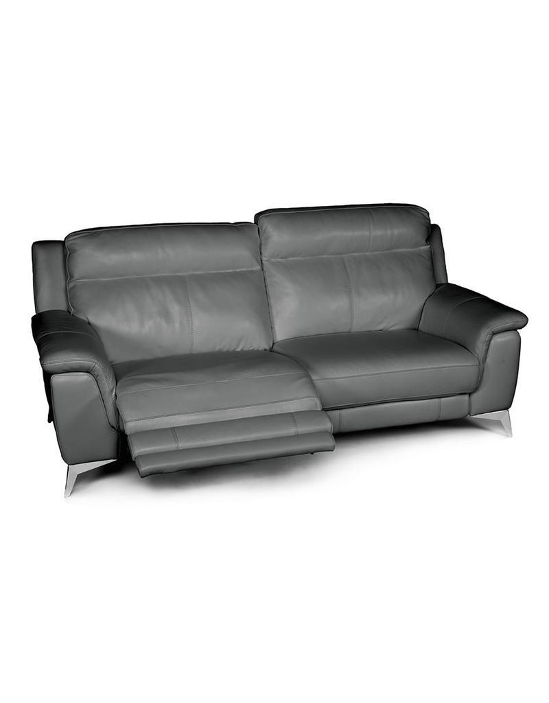Carson Power Reclining Sofa Grey