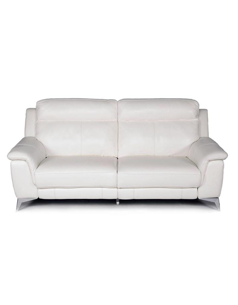 Carson Power Reclining Loveseat White