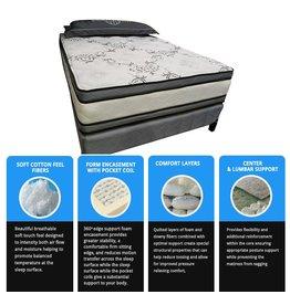 Sleep Dream Avalon 1000 Queen Mattress