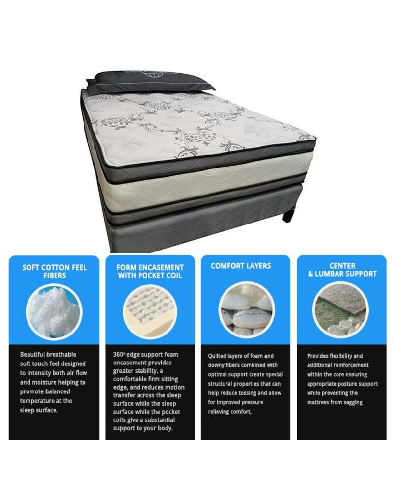 Sleep Dream Avalon 1000 Queen Mattress