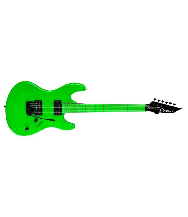 DEAN Dean Custom Zone Electric Guitar Nuclear Green