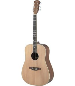 J.N. Guitars ASY-D LH ASYLA Series Left Handed Dreadnought Acoustic Guitar