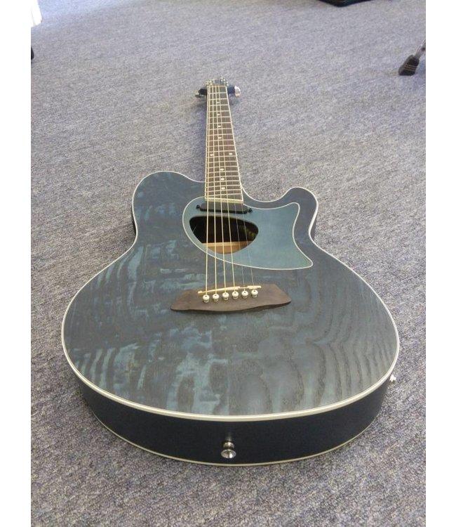 IBANEZ  Talman TCM50 Ac/El Guitar - Dark Night Ocean