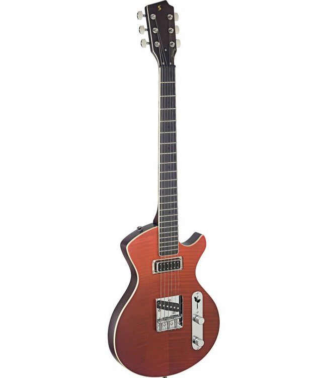 STAGG Silveray series, Custom Deluxe model, with solid alder body