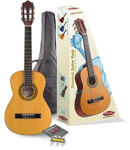 STAGG Stagg C505 1/4 Size Classical Guiar Player Pack w/Bag