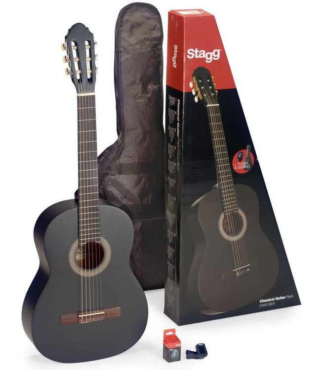 STAGG Stagg C440 M BLK  Starter Pack