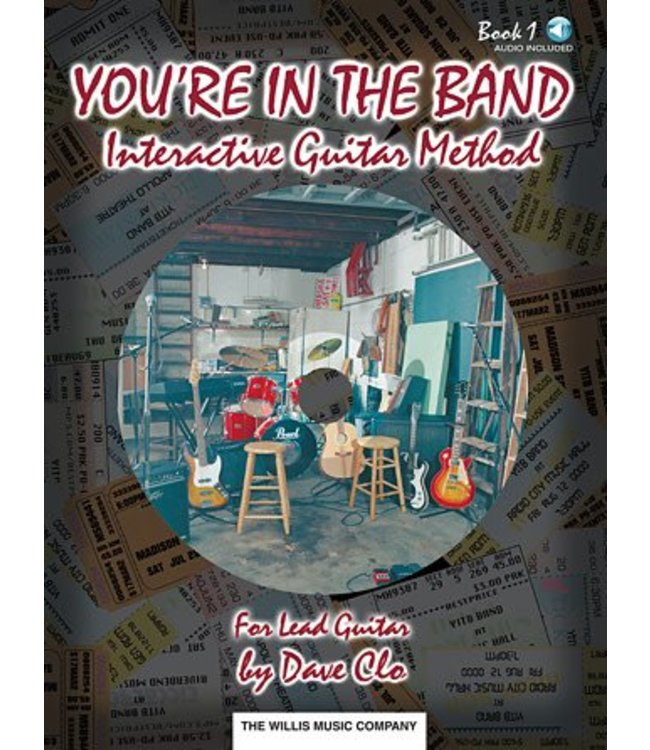 HAL LEONARD You're in the Band – Interactive Guitar Method Book 1 for Lead Guitar