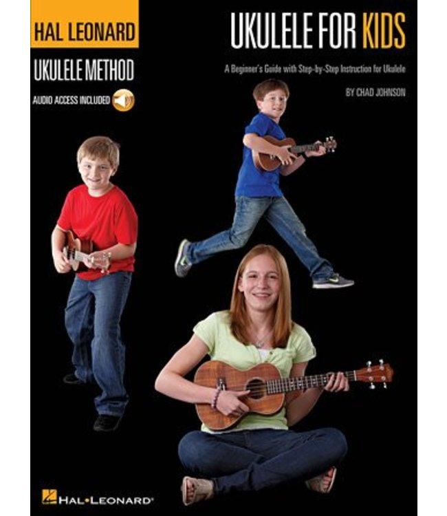 HAL LEONARD Ukulele for Kids – The Hal Leonard Ukulele Method A Beginner's Guide with Step-by-Step Instruction for Ukulele