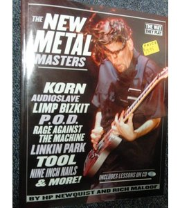 HAL LEONARD The New Metal Masters