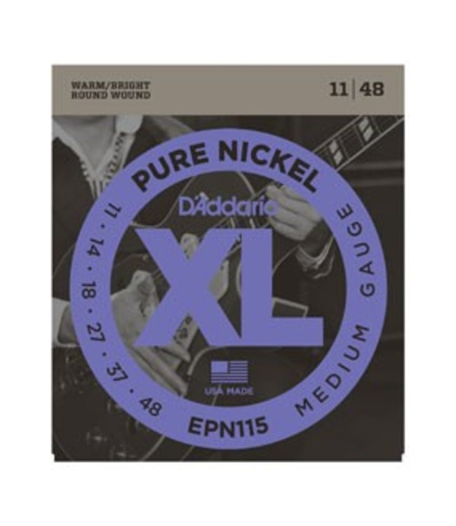 D'ADDARIO D'ADDARIO EPN115 ELEC GTR NICKEL BLUES/JAZZ