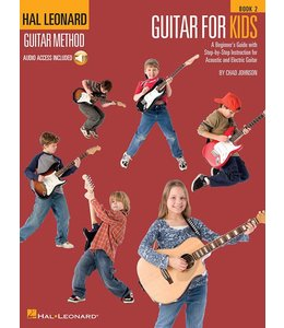 HAL LEONARD Guitar for Kids – Book 2