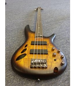 IBANEZ Ibanez SR30TH4 30th Anniversary Semi-Hollow 4-String Bass Natural Browned Burst Flat