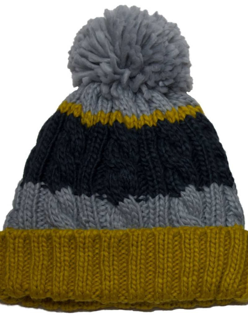 Knit Striped Touque