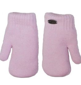 Knit Mittens Pink