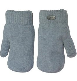 Knit Mittens Grey