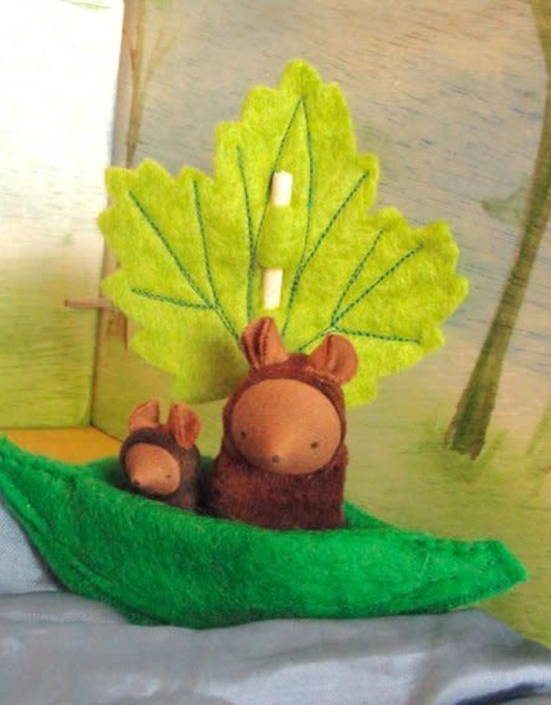 Chill Handcrafted Leaf Boat