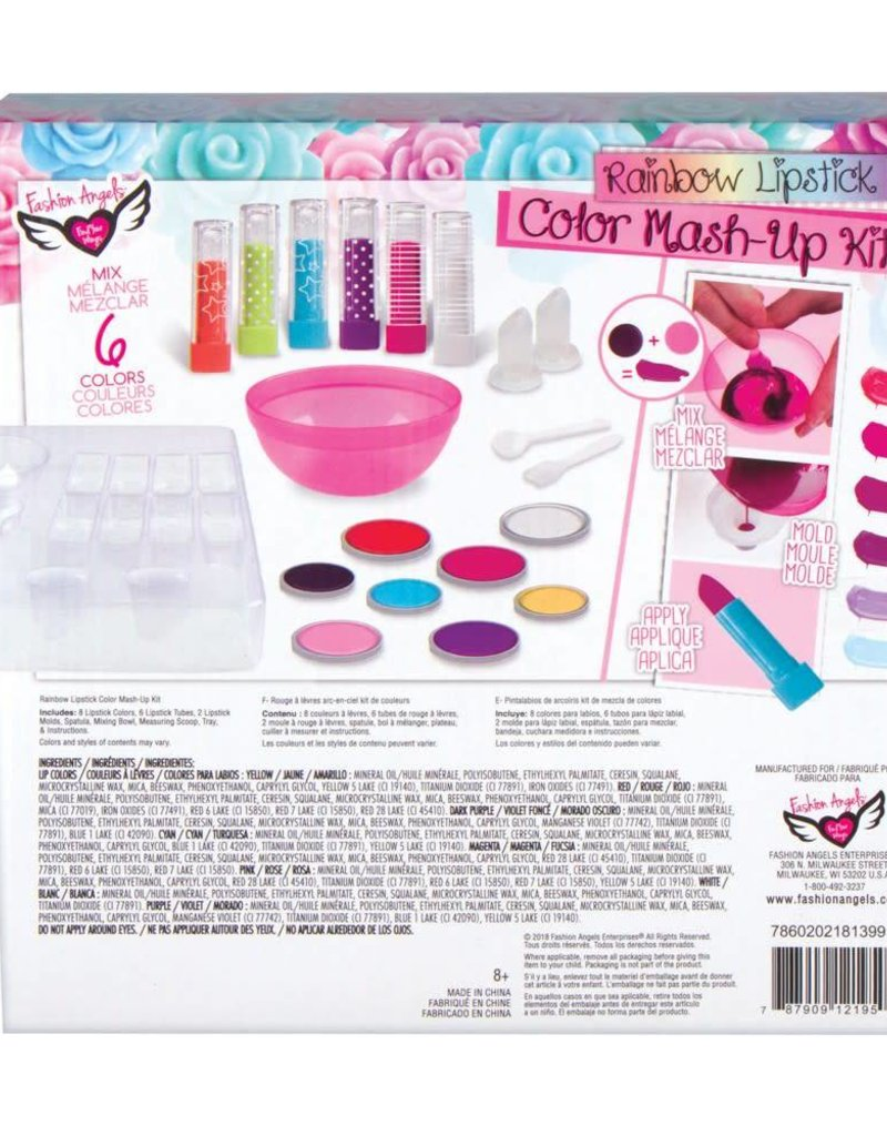 Fashion Angels Rainbow Lips Lipstick Mixing Kit
