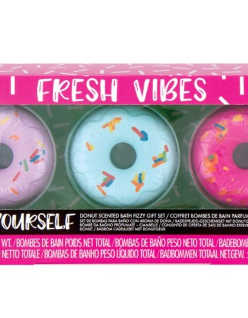 Fashion Angels Fresh Vibes Donut Scented Bath Bombs