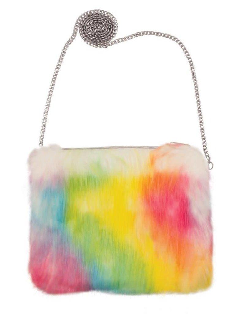 Fashion Angels Faux Fur Magic Sequence Bag
