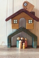 Chill Waldor Inspired Peg Dolls & House