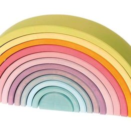 Grimm's Rainbow Stacker Pastel Large