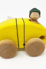 Chill Wooden Car + One Person