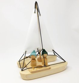Chill Wooden Catamaran