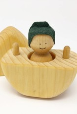 Chill Wooden Egg + One Person