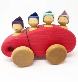 Chill Wooden Minibus + Four People