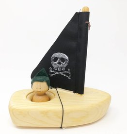 Chill Wooden Pirate Ship