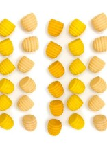 Grapat Mandala Honeycombs 36 pc, Loose Parts - Yellows