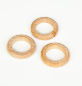 Grapat Wood Natural Rings