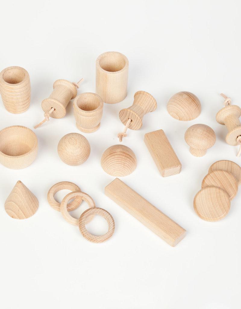 Grapat Wood Treasure Basket 20 pc
