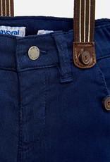Mayoral Chino Ribbed Suspender Pant