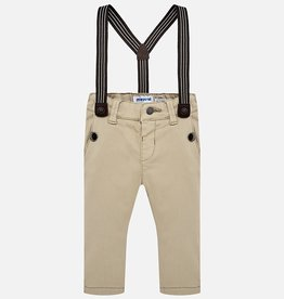 Mayoral Chino Ribbed Suspender Pant (More Colours)