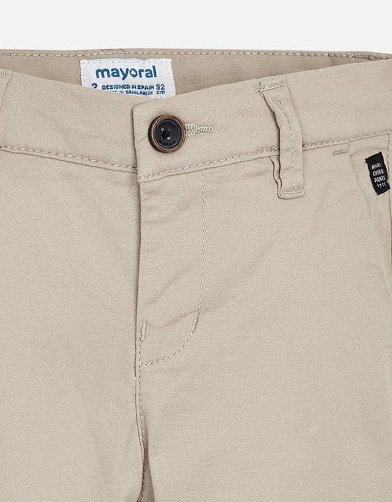 Mayoral Twill Slim Pant