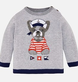 Mayoral Bulldog Sailor Sweater