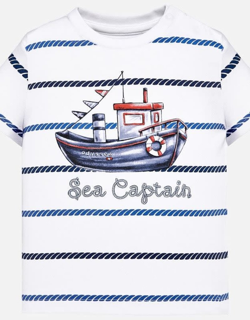 Mayoral Sail Boat Tee