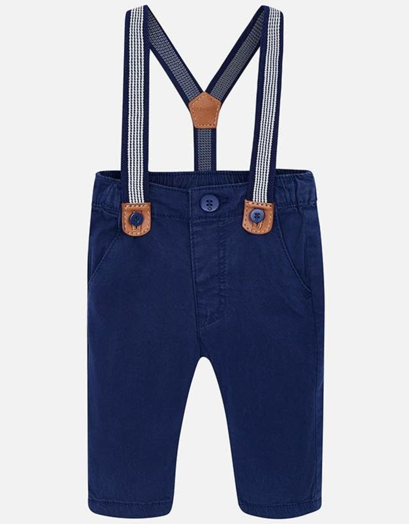Mayoral Suspender Pants