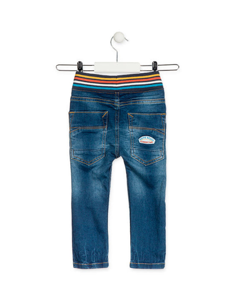 Losan Jog Jeans with Striped Waist