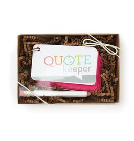 Inklings Quote Keepers (More Colours)