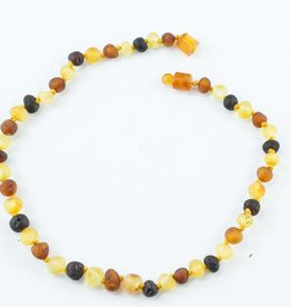 Healing Hazel Amber Teething Necklace (More Colours)
