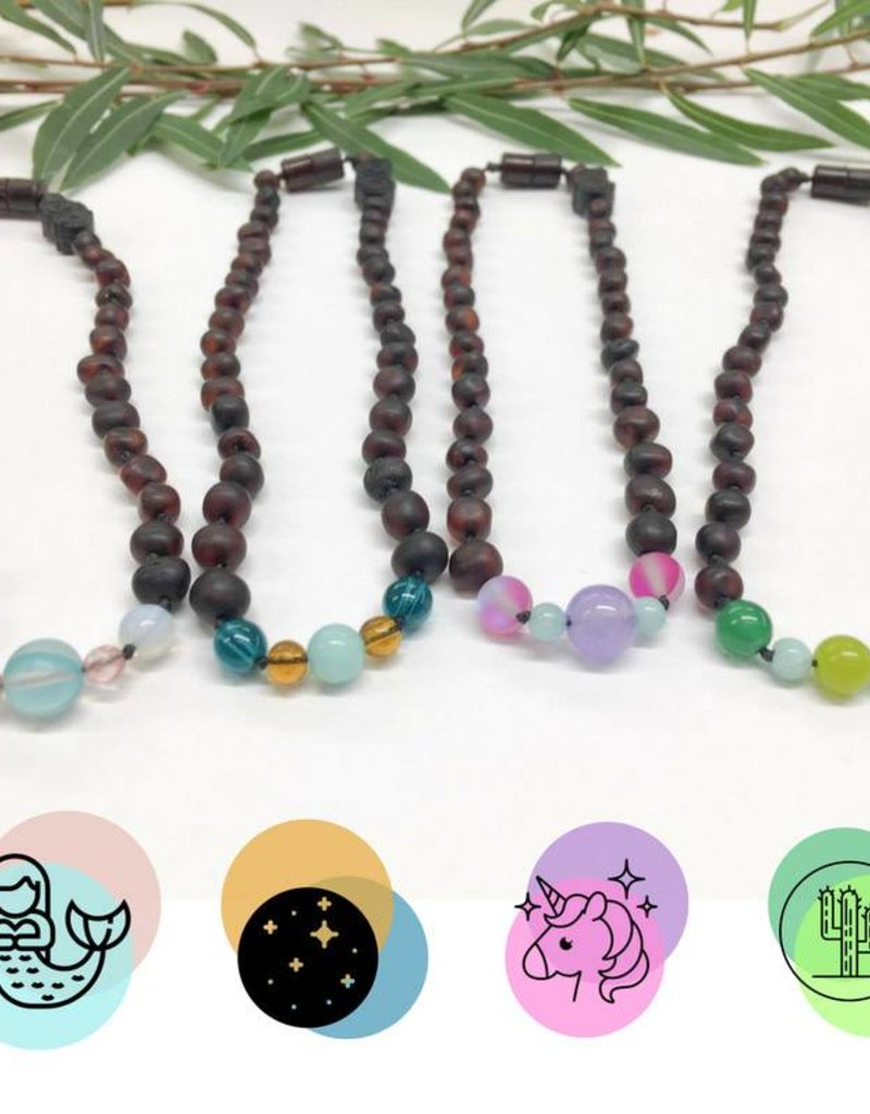 Healing Hazel Teething Necklace Limited Edition