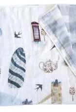 Loulou Lollipop Muslin Quilt Blanket