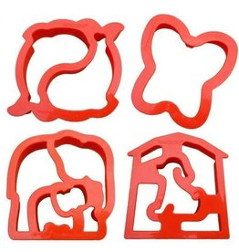 Lunch Punch Sandwich Cutters Value Pack
