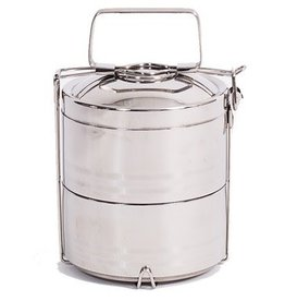 Onyx Stainless 2 Layer Tiffin Lunch Box