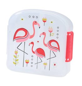 Sugarbooger Sandwich Box with Snack Divider - Non-Toxic