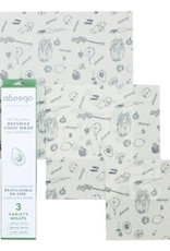 abeego Beeswax Reusable Food Wrap